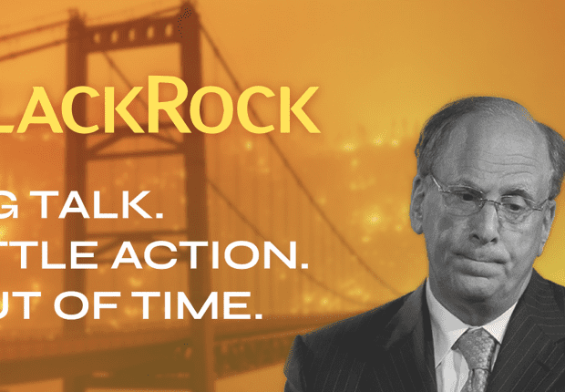 BlackRock: Big Talk. Little Action. Out of Time
